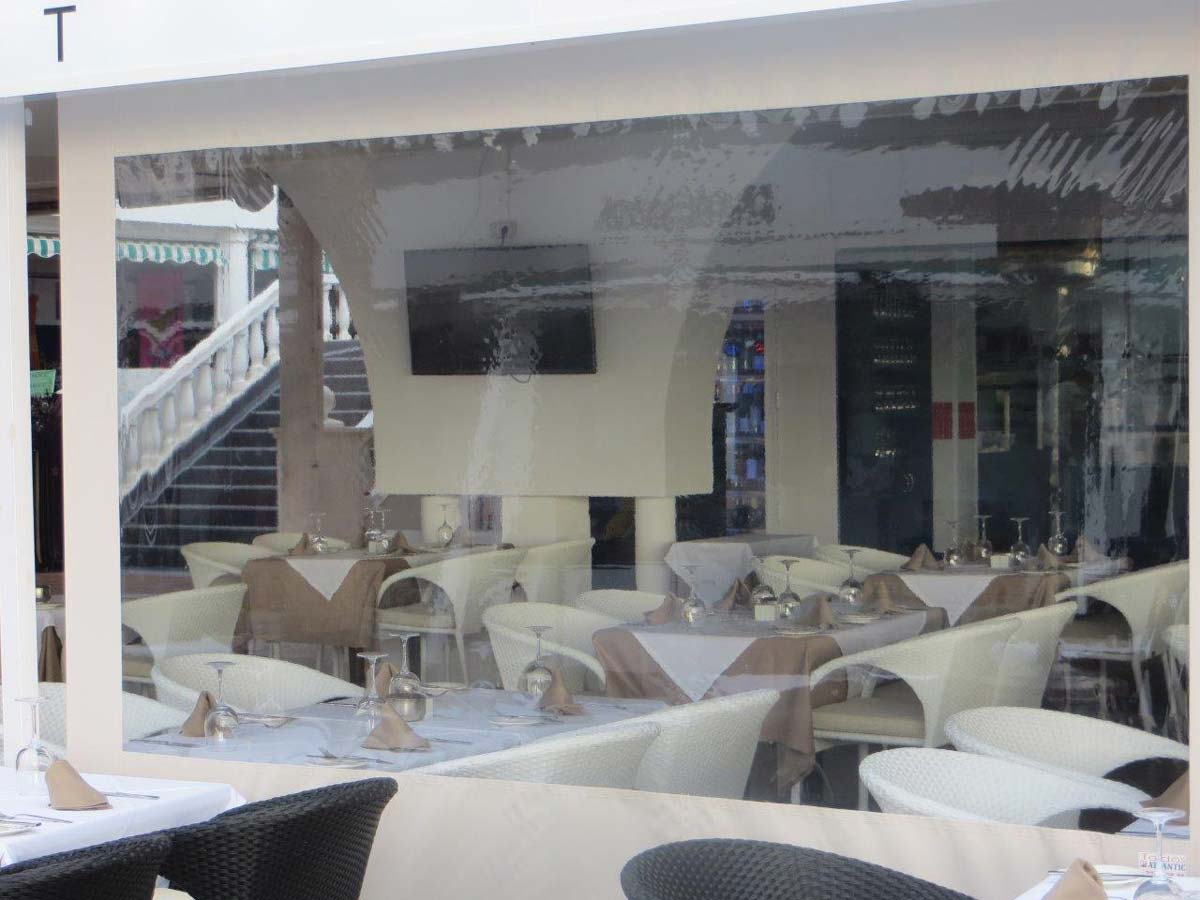 Durchsichtiges Folienrollo Fur Terrassen Als Massanfertigung