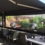 Folien-Rollo für Terrassen