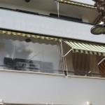 Folienfenster Balkon