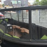 Folienfenster Boot