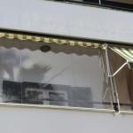 Folienrollo Balkon