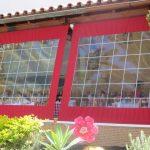 Wetterschutzrollo für Terrassen Typ 3.0