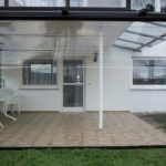 ZIP- Wetterschutzrollo Terrasse