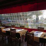 Folienrollo Restaurant