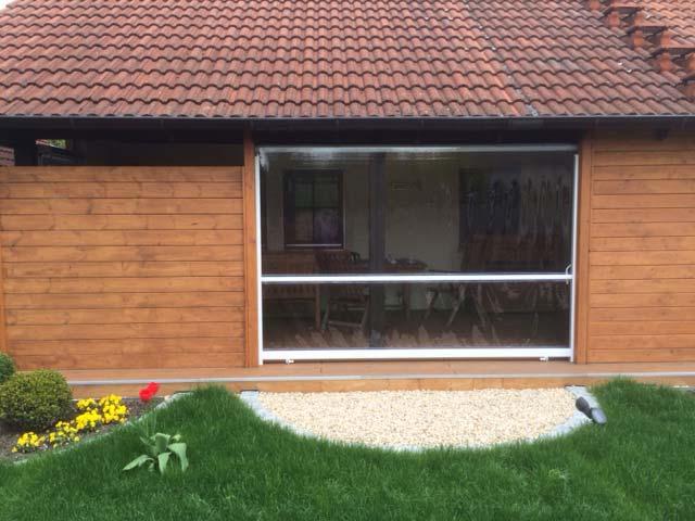Durchsichtiges Folienrollo Für Terrassen Als Maßanfertigung